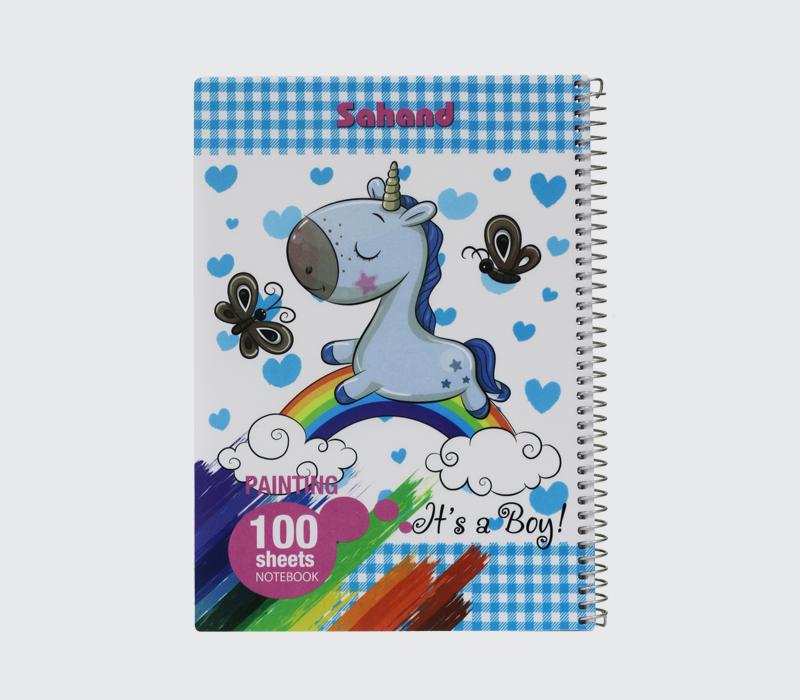 دفتر نقاشی 100 برگ