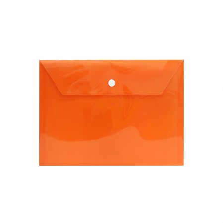 پوشه دکمه دار A5 نارنجی