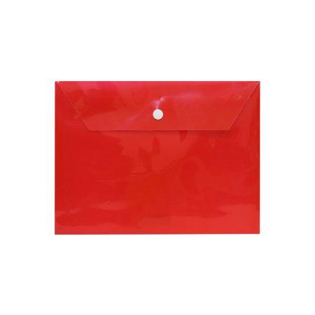 پوشه دکمه دار a5 قرمز