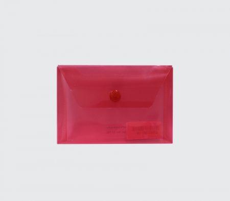 پوشه دکمه دار جیبی قرمز