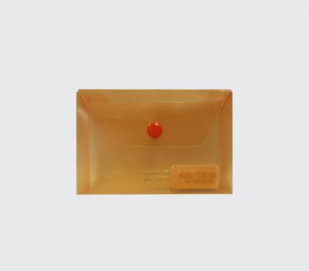 پوشه دکمه دار جیبی نارنجی