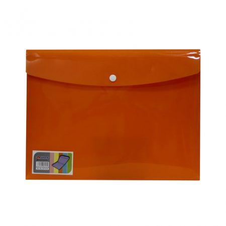 پوشه دو جیب نارنجی