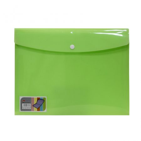پوشه دو جیب سبز