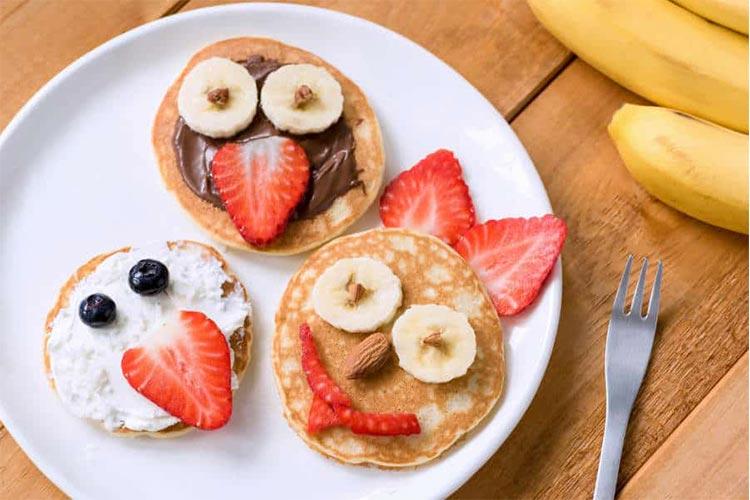 تزیین صبحانه کودک